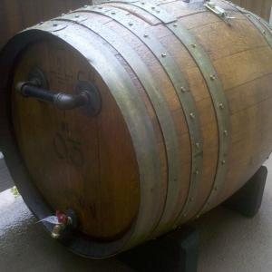 Ice Chest made out of a Wine Barrel